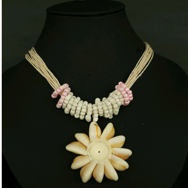 Necklace Beach - Coral Pink