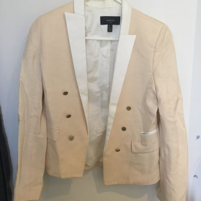 New Mango Beige Suit