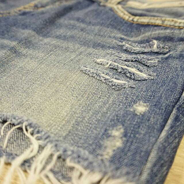 New-Short Blue Jeans