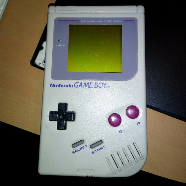 Nintendo Gameboy with Wario Land