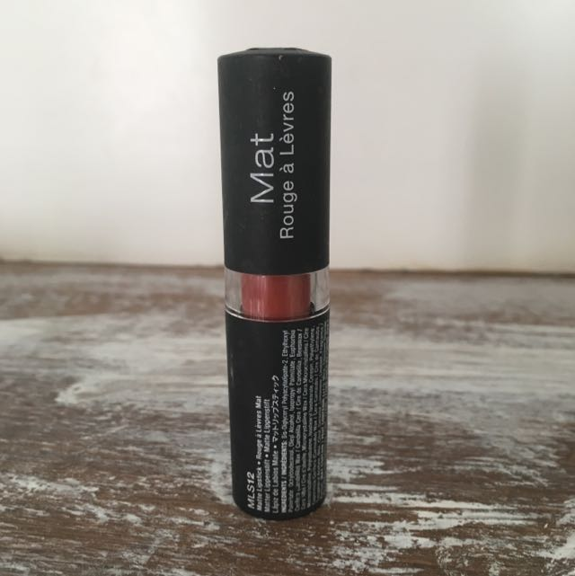 Nyx Matte Lipstick- Sierra