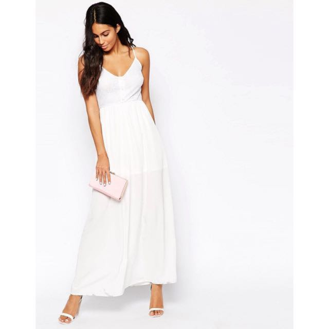 Oh My Love Lace Maxi Dress Women S Fashion Clothes Dresses