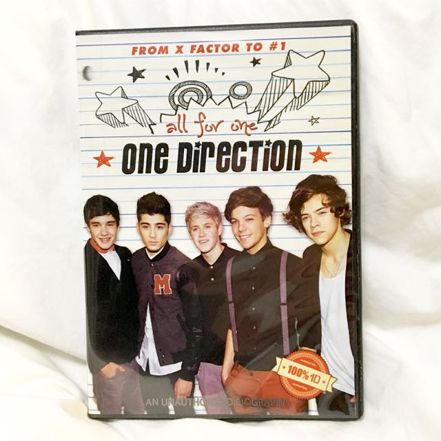 One Direction All For One Biography