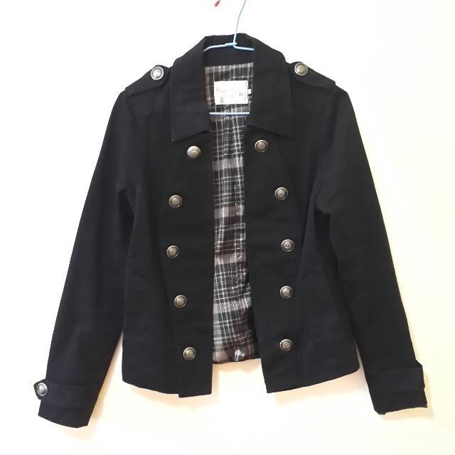 PINK 雙排釦翻領外套 #舊愛換新歡
