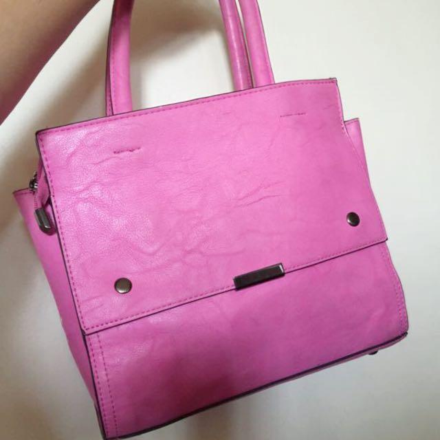 Pink Multi Purpose Bag