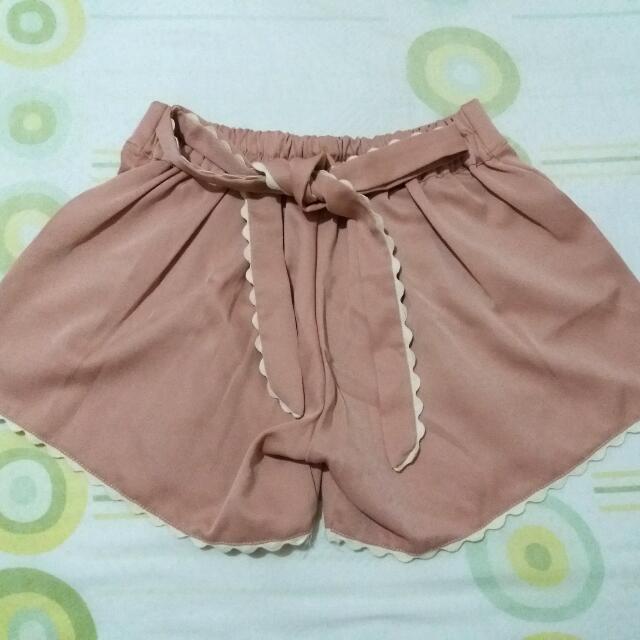 Pink Short (Preloved)