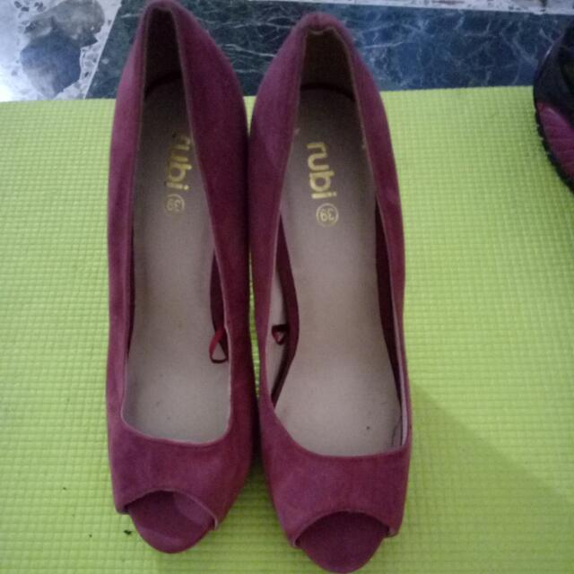 Pink/red High Heels