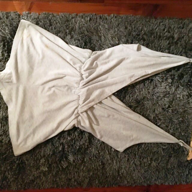 Playsuit Grey 6-8