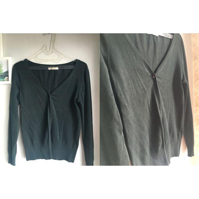 Premium Black Cardigan MST