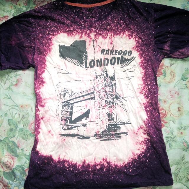 Purple Dyed T-shirt