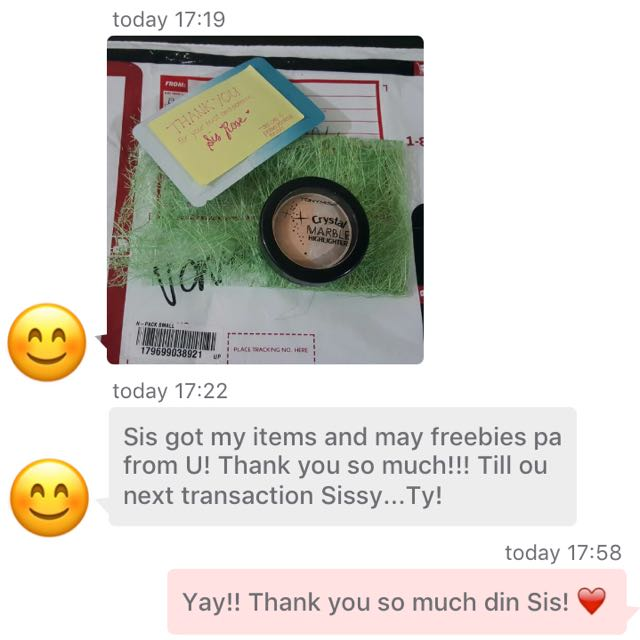 Satisfied Customer 💕