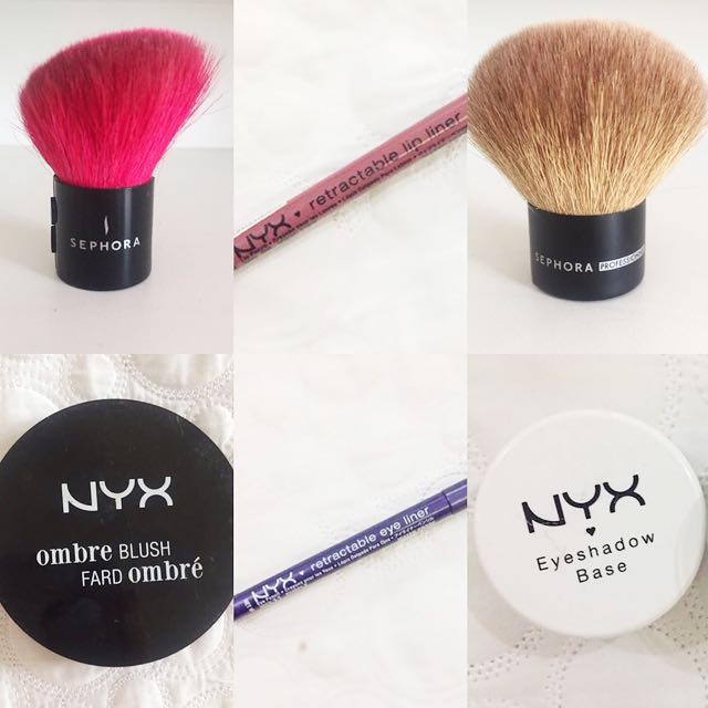 Sephora Brush & NYX Makeup 😍