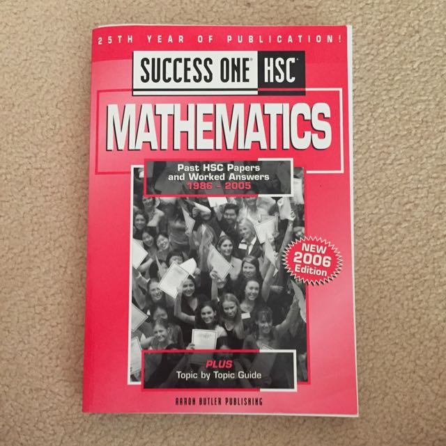 Success One HSC (Mathematics)