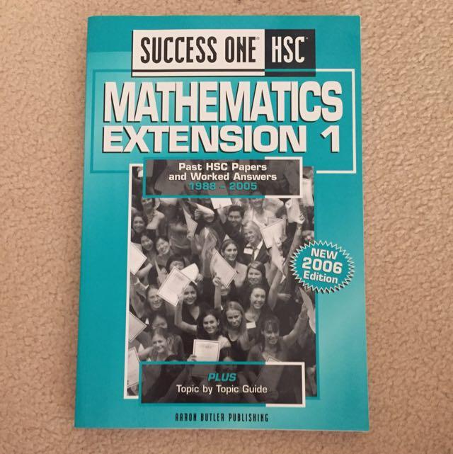 Success One HSC (Maths Extension 1)