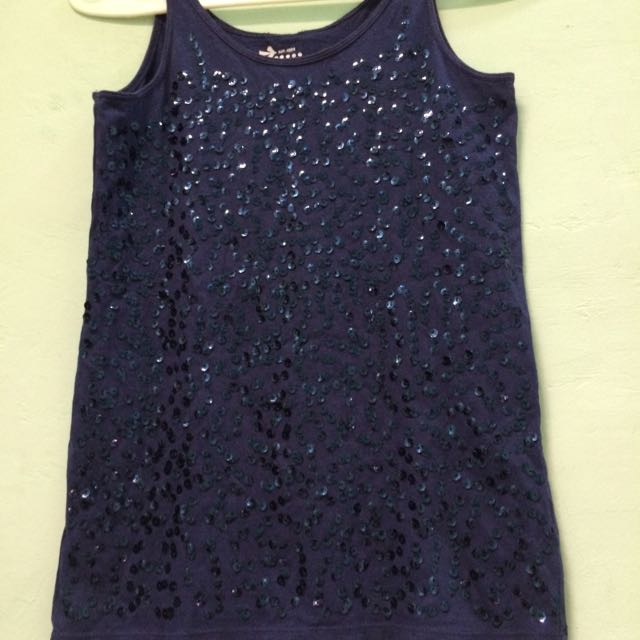 Tanktop Blue Navy
