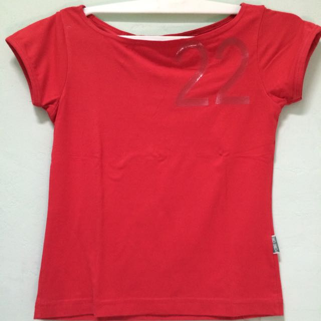 T-shirt Red Point One