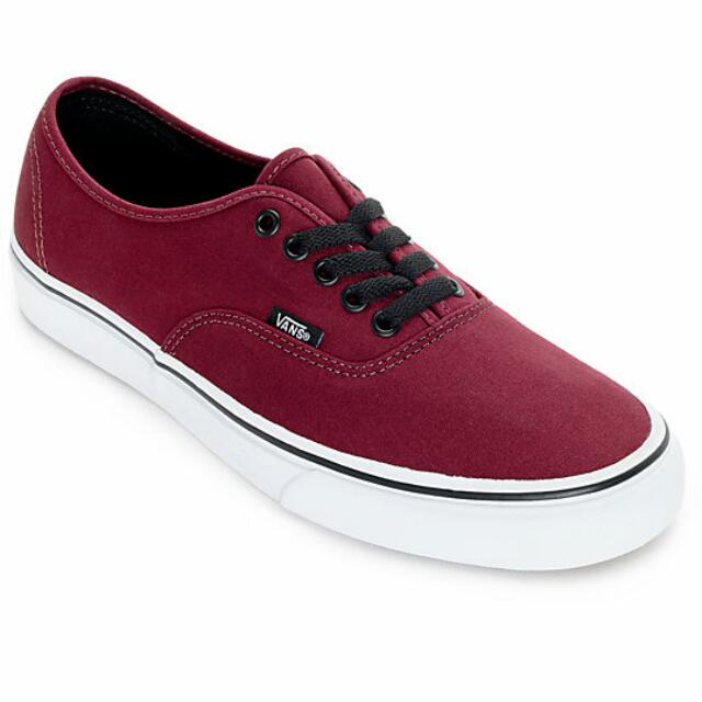 79aa189ace9932 Vans Authentic Port Royale and Black Skate Shoes