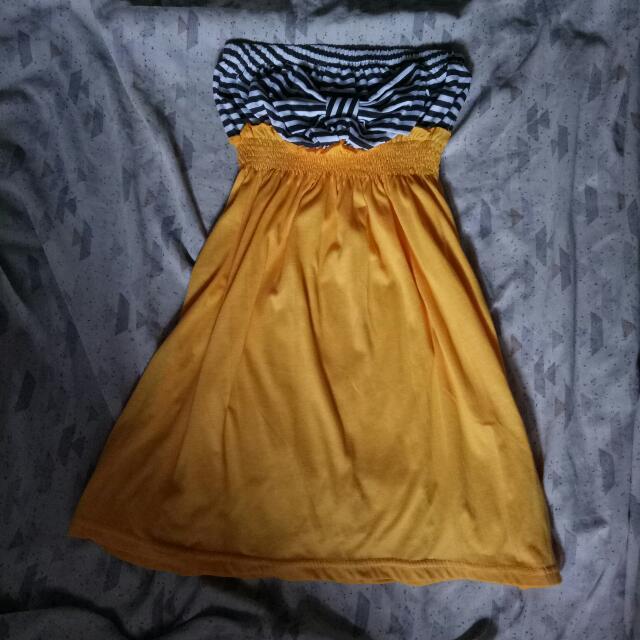 Yellow Tube Dress