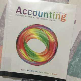 Accounting Business Reporting For Decision Making (5th Edition)