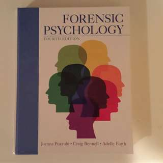 Justice Studies Textbook: Forensic Psychology