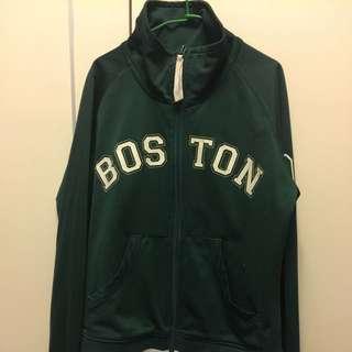 綠色New Balance外套