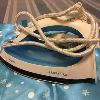 飛利浦蒸氣式電熨斗  水藍色  400含運