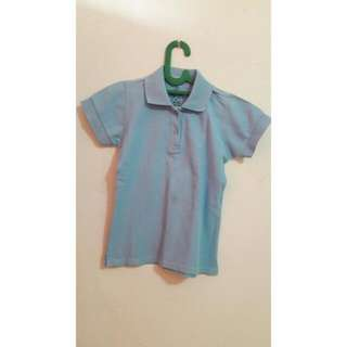 Preloved Top - Baby Blue