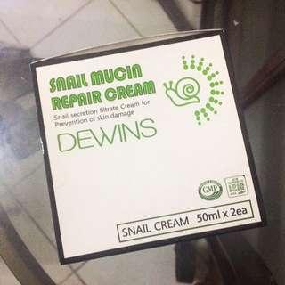 Dewins Korean Snail Mucin Repair Cream