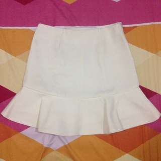 Look Boutique Store White Skort
