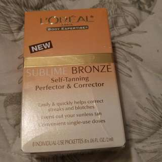 Loreal Paris Body Expertise New Sublime Bronze Self-Tanning Perfector & Correcter