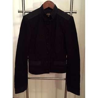 Ben Sherman Button Up Jacket/Blazer (BLACK, SIZE XXS)