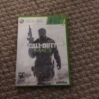 Xbox Call Of Duty Mw3