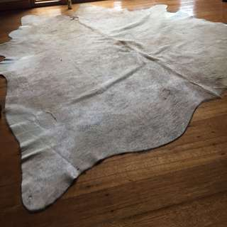 Light Tan COWHIDE RUG