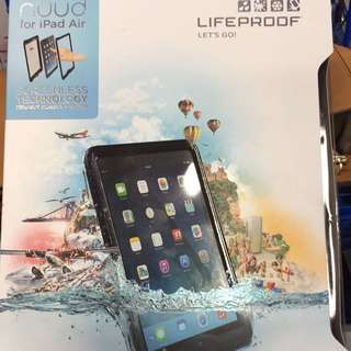 Lifeproof Nuud Case For iPad air (compatible For 1 And 2) Black color