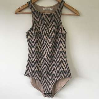Size 6 Festival Aztec Leotard/top