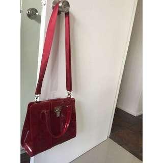 Deep Red Bag