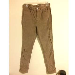 GAP beige Corduroy Pants
