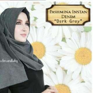 PASHMINA INSTAN DENIM