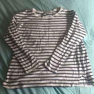 zara  long sleeves size M