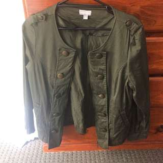 suzannegrae green jacket