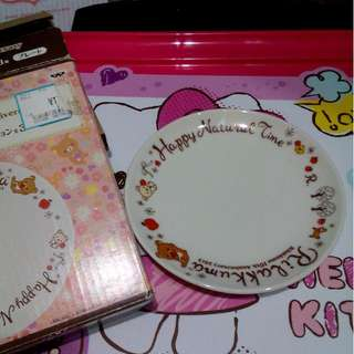 [new] Piring Rilakkuma Ori Japan