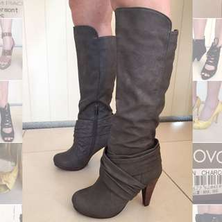 Novo Charcoal Boots