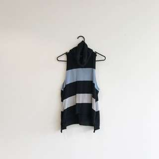 Victoria + Woods Sleeveless Rolled Neck