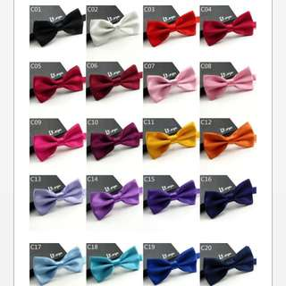 48 Color Bow Ties