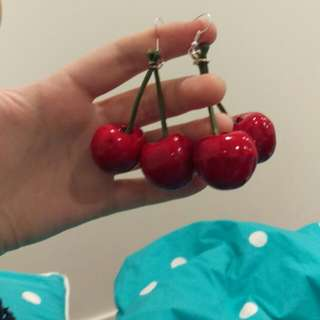 Cherry Earrings!