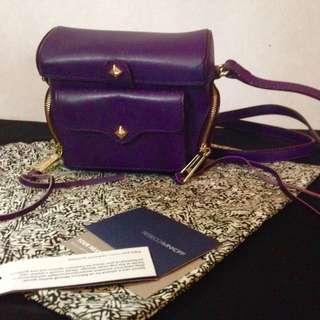Rebecca Minkoff purple Craig camera bag