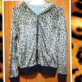 👚絨布豹紋外套👚