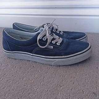Vans Navy Blue US Size 10