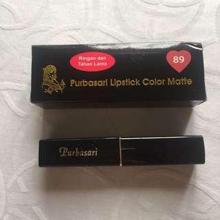 Purbasari Lipstick Color Matte No.89