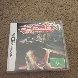 Need For Speed Ds Game
